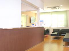 当院の受付と待合室です。