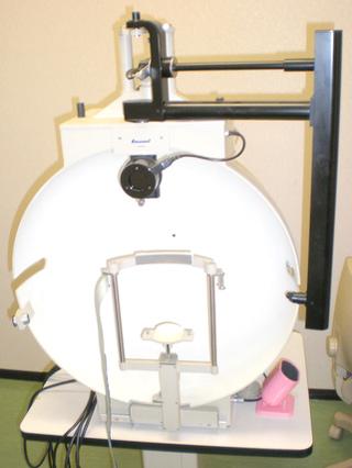 動的量的視野検査